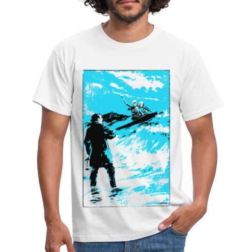 surfer skeletons - Men's T-Shirt