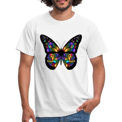 papillon design - T-shirt Homme