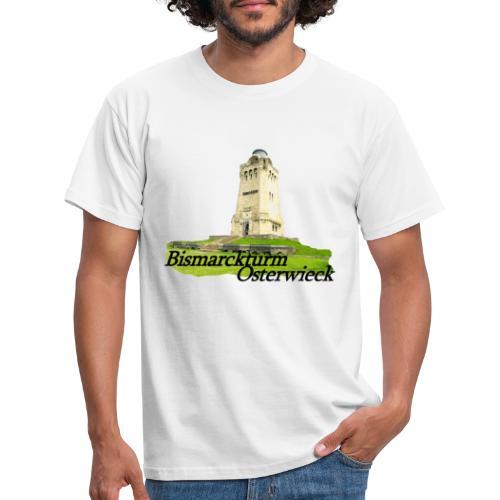 bismarckturm osterwieck 3 - Männer T-Shirt