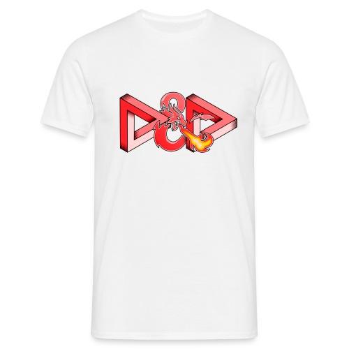 Pysyvät Dungeons and Dragons - dnd d & d - Miesten t-paita
