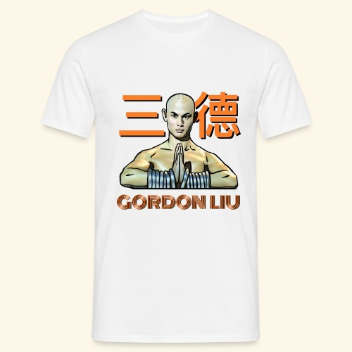 Gordon Liu - San Te Monk (Official) 6 dots - Mannen T-shirt