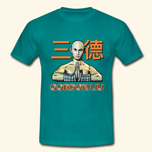 Gordon Liu - San Te Monk (Official) 6 prikker - Herre-T-shirt