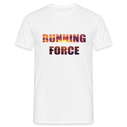 Logo-Shirt RUNNINGFORCE - Männer T-Shirt