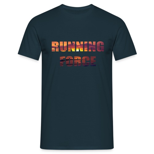Logo-Shirt RUNNINGFORCE - Männer T-Shirt