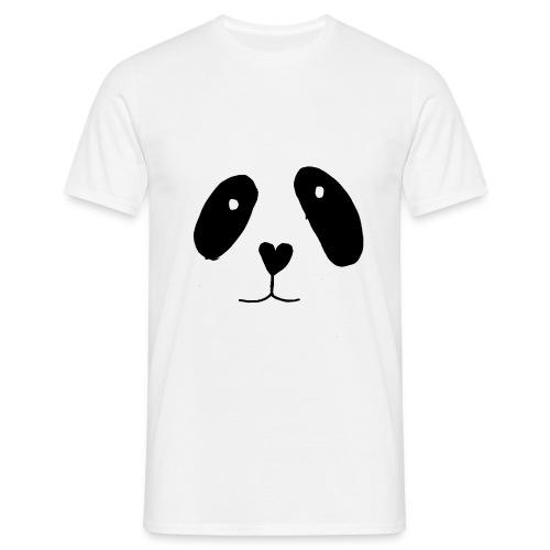 Panda - Herre-T-shirt