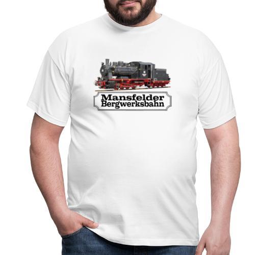 mansfelder bergwerksbahn dampflok 3 - Männer T-Shirt