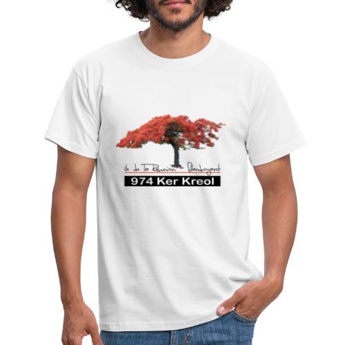 Flamboyant 974 Ker Kreol - T-shirt Homme