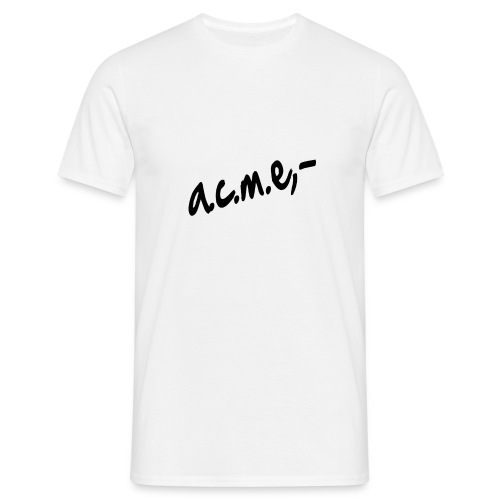 acmeproductionswhite - Männer T-Shirt