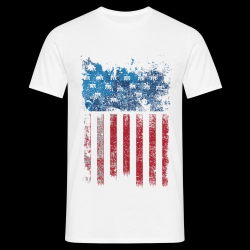 US Flag - T-shirt Homme