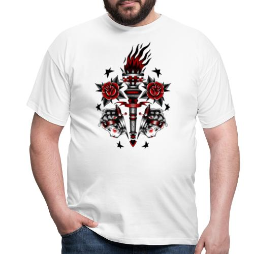 TAMES SB.CLICK/TH CLAN X iorestoacasaArtistiUniti - Maglietta da uomo