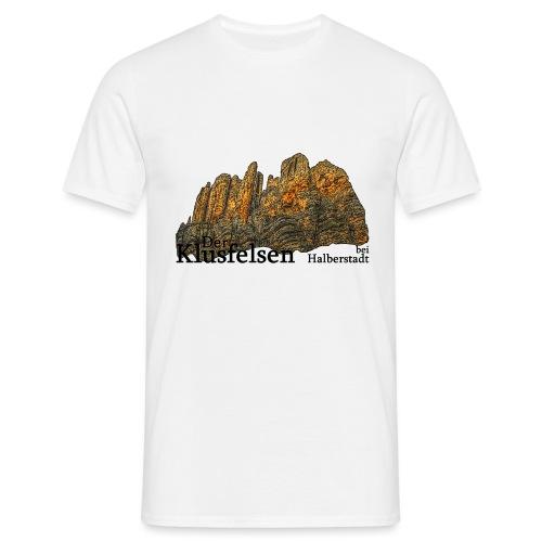 klusfelsen bei halberstadt 1 - Männer T-Shirt
