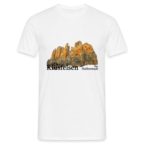 klusfelsen bei halberstadt 3 - Männer T-Shirt