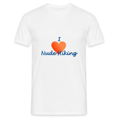 Low_logo_nude_hiking - Miesten t-paita