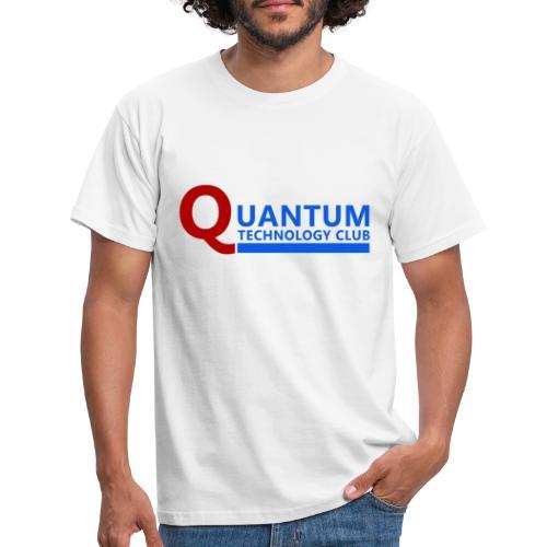 Quantum Tech Club Logo - Men's T-Shirt