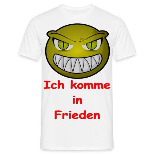 Alien frieden - Männer T-Shirt