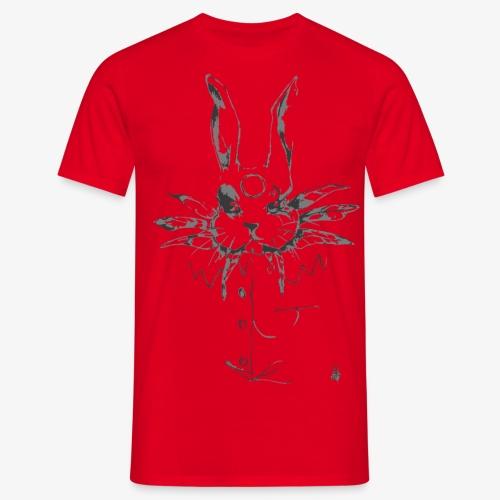 crazy rabbit - Maglietta da uomo