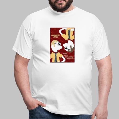 Bears Beets Battlestar Galactica - T-shirt herr