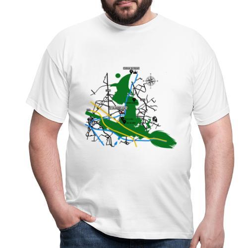 Bois de Stambruges (Plan) - T-shirt Homme