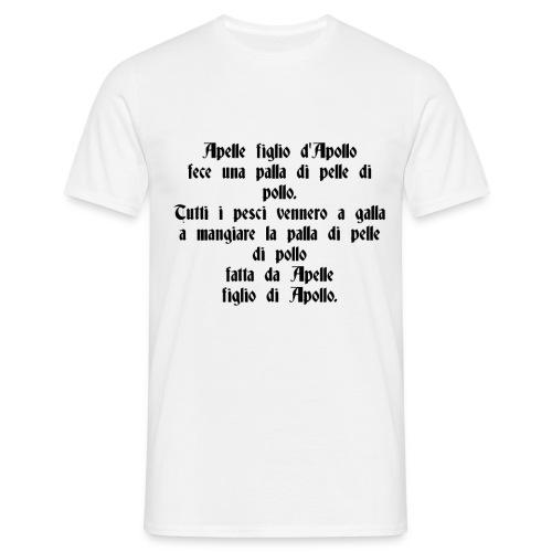 Sciogli Lingua Maglietta Uomo Donna Divertente - Maglietta da uomo