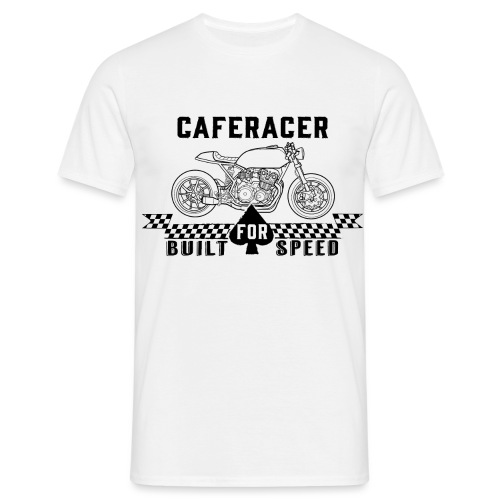 Caferacer - Built for speed - Men's T-Shirt