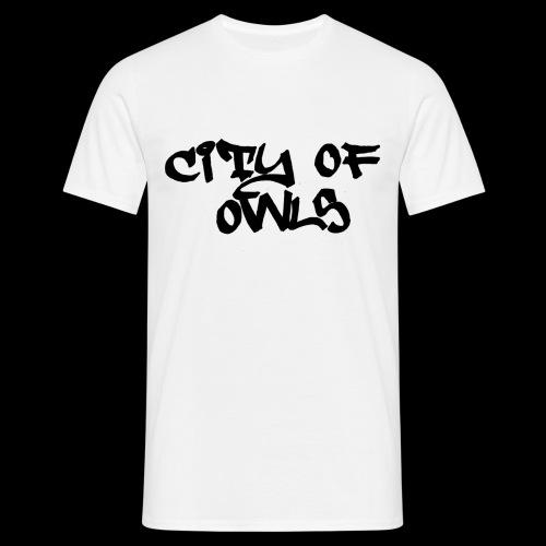 City of owls - Männer T-Shirt