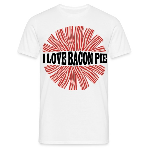 BACON PIE - Männer T-Shirt