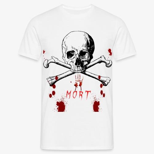 Mort design avec sang - T-shirt Homme