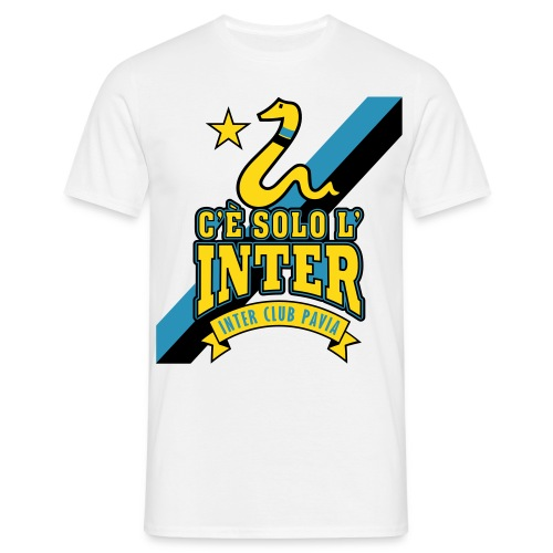 grafica tshirt inter club pavia - Maglietta da uomo