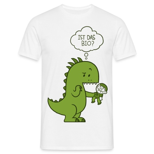 Bio-Dinosaurier - Männer T-Shirt