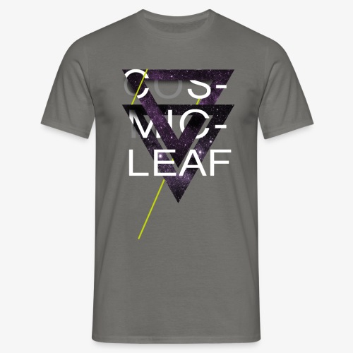 Cosmicleaf Triangles - Men's T-Shirt