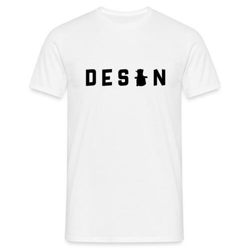 Desan - Text - T-shirt herr