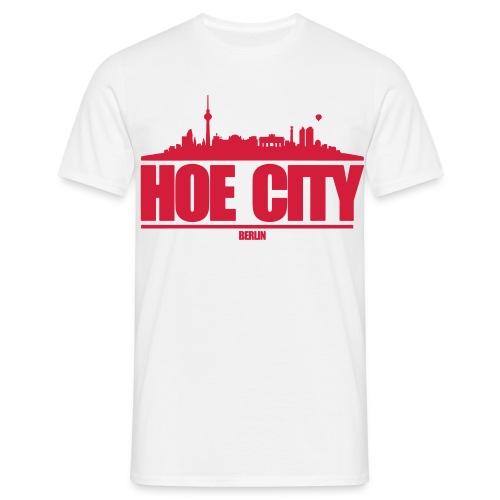 hoe city vektor - Männer T-Shirt