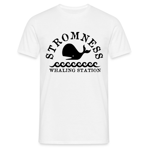 Sromness Whaling Station - Men's T-Shirt