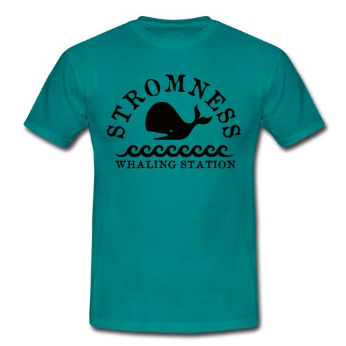 Sromness Whaling Station - Men's T-Shirt