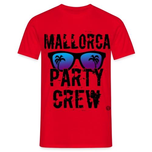MALLE PARTY CREW Shirt - Mallorca Shirts 2019 - Mannen T-shirt