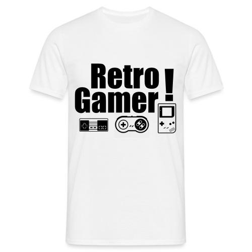 Retro Gamer! - Men's T-Shirt
