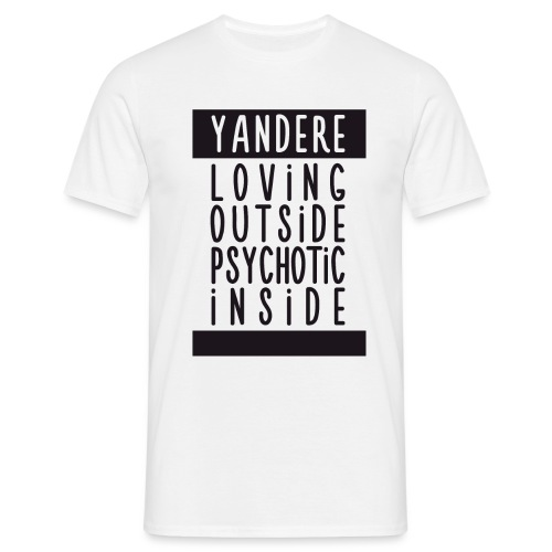 Yandere manga - Men's T-Shirt
