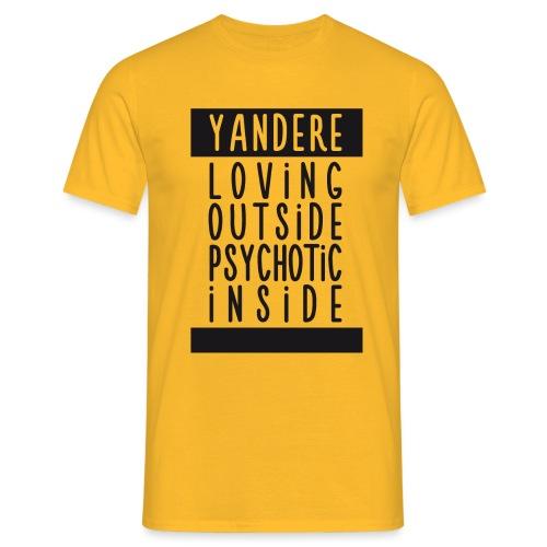 Yandere manga - Men's T-Shirt