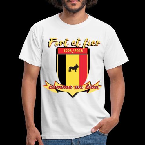 belgique foot coupe du monde - T-shirt Homme