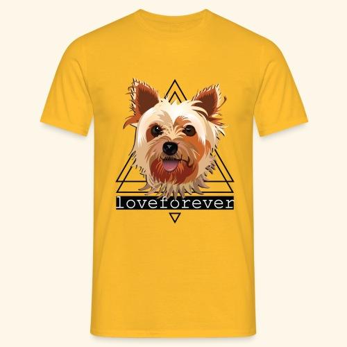 YORKIE LOVE FOREVER - Camiseta hombre