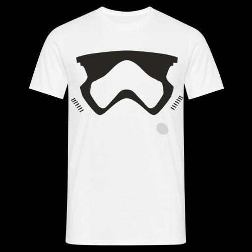 Modern Stormtrooper Face - Men's T-Shirt