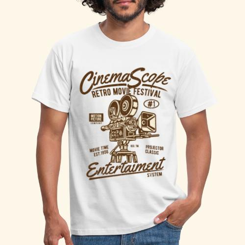 Cinema-Scope - Men's T-Shirt