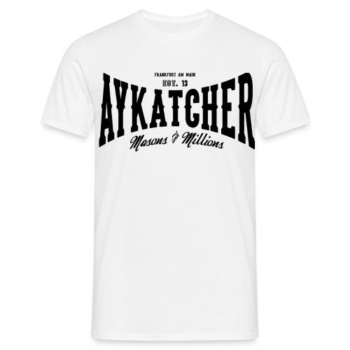 Aykatcher Logo - Männer T-Shirt