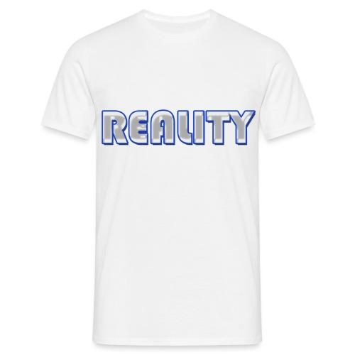 REALITY LOGO - Men's T-Shirt