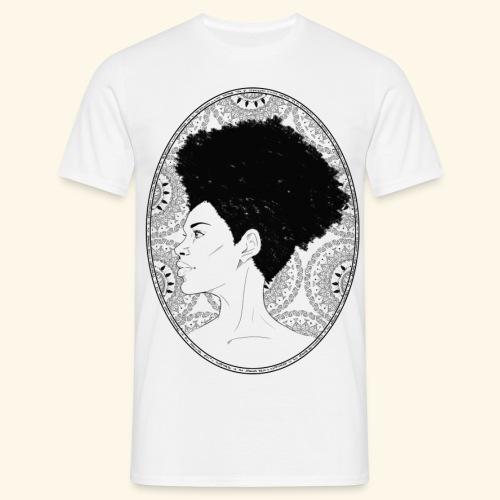 afro-mandala - Maglietta da uomo