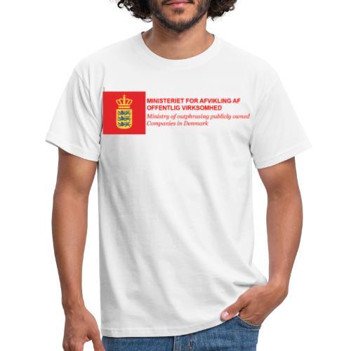 MINISTERIET FOR AFVIKLING AF OFFENTLIG VIRKSOMHED - Herre-T-shirt