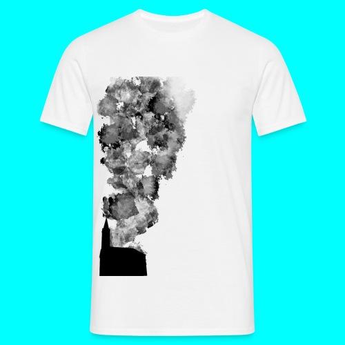 Burnchirch png - Männer T-Shirt