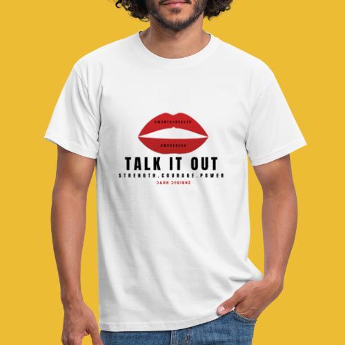 Mental Health Awareness (Talk It Out) - Men's T-Shirt