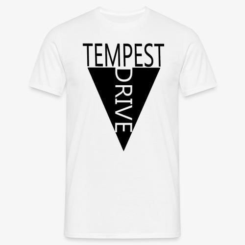 Komprimeret logo - Herre-T-shirt