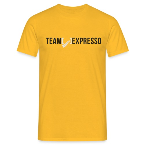 Team Expresso Shirt Logo png - Men's T-Shirt
